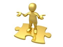 Motivation lernen- Üben und die richtigen Puzzleteile zusammenstellen