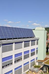 Fotovoltaikanlage Weleda AG Schwäbisch Gmünd